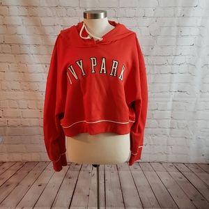 Ivy Park Cropped Sweatshirt NWT XXL